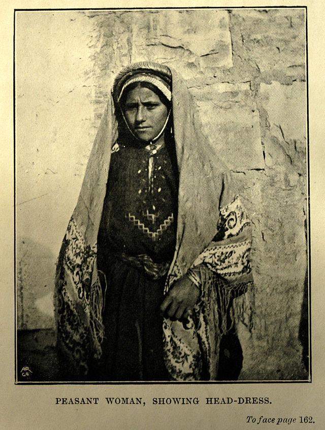 палестинка в платке