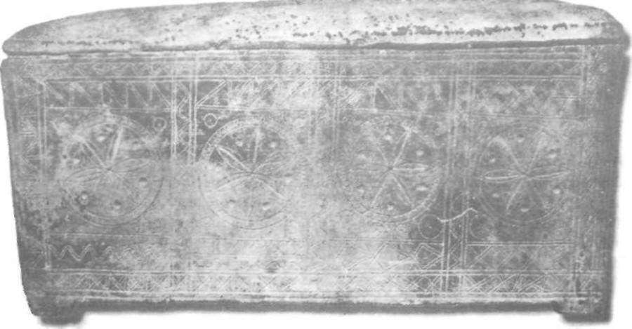 палестинский саркофаг в иерусалиме