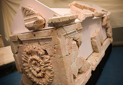 саркофаг ирода ромашка