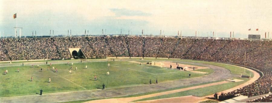 стадион ленинград 1957