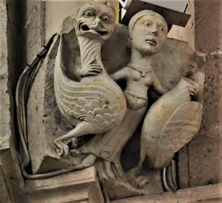 две утки из саламанки La Catedral Vieja de Salamanca