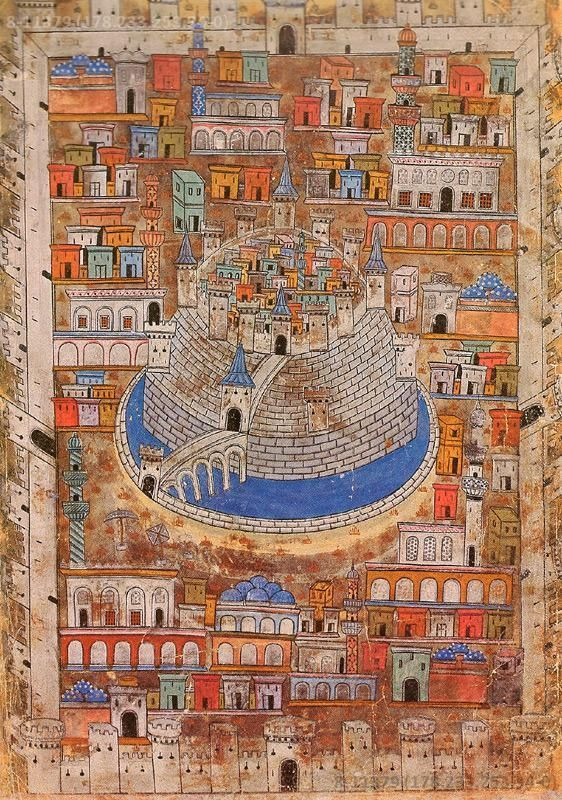 алеппо, сирия 16 век матракчи насух