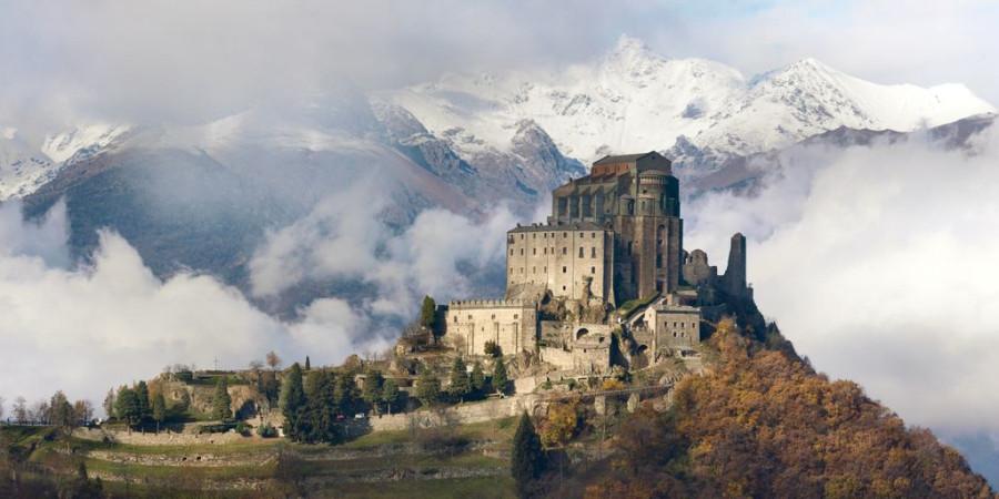 Sacra di San Michele Piedmont Italy