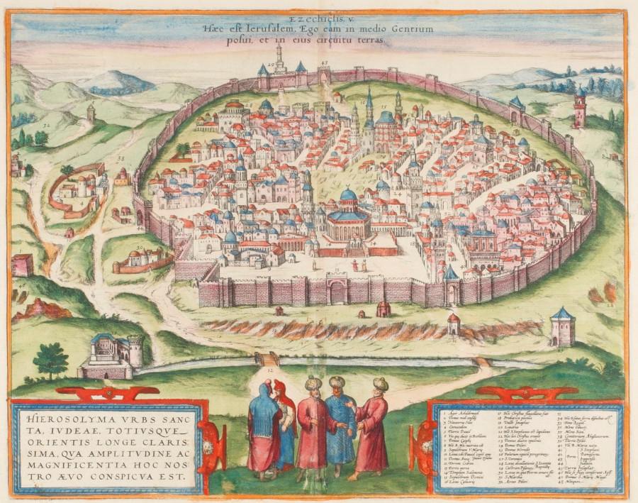 hierosolyma Civitates Orbis Terrarum 1572