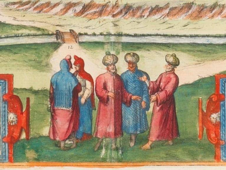 hierosolyma Civitates Orbis Terrarum 1572 -4