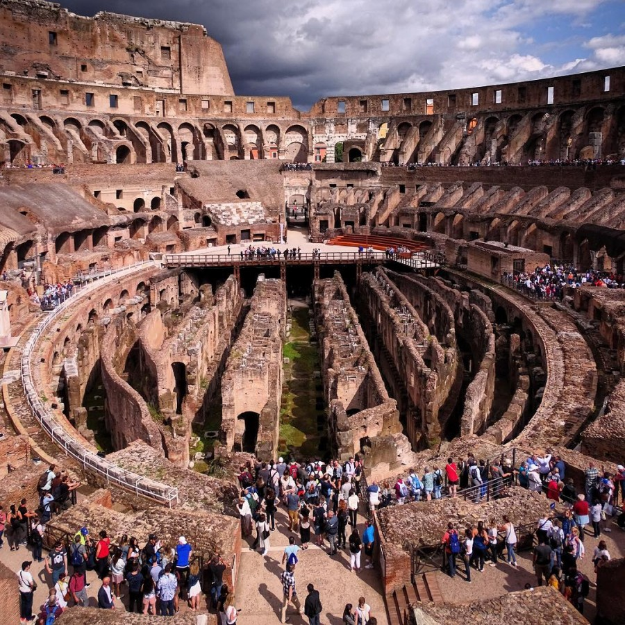 colosseum under