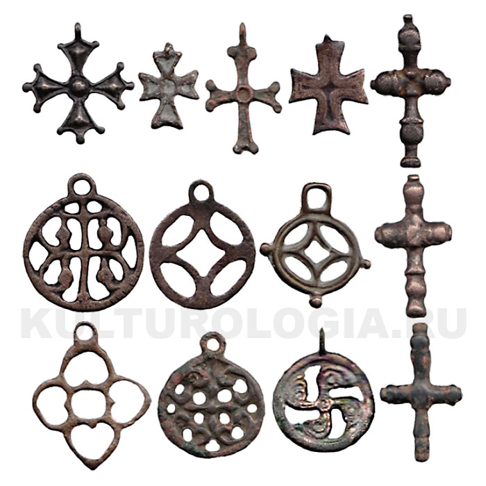 несторианские кресты киргизии