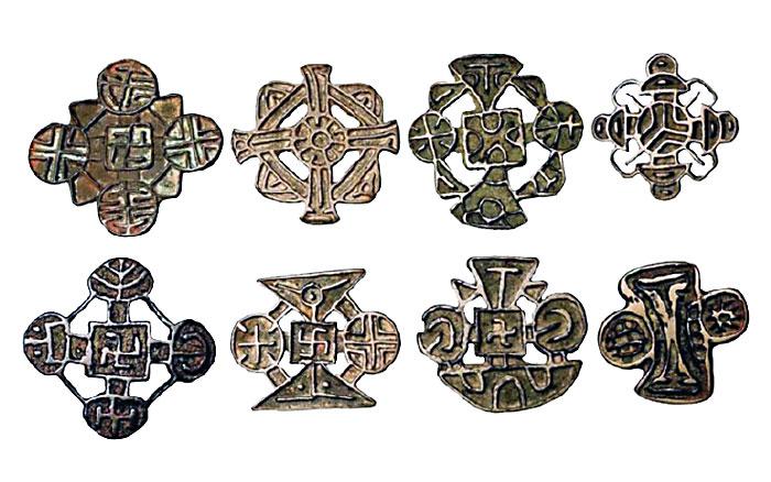 несторианские кресты