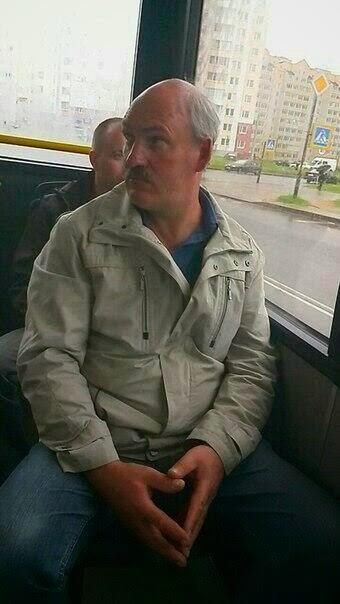 двойник в минском автобусе