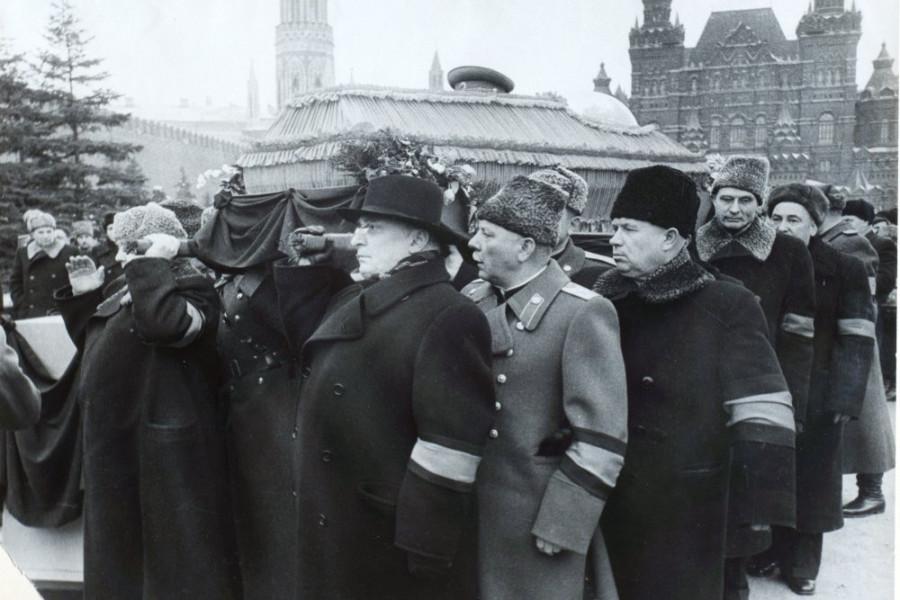 похороны сталина повязка