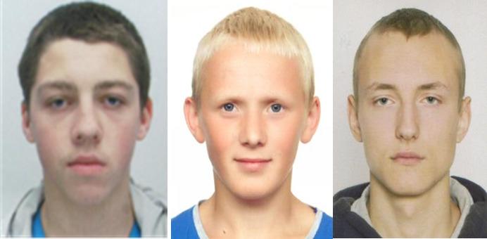 трое подростков Могилев