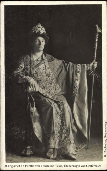 Маргарита Клементина Австрийскаякнягиня Турн-Таксис 1870-1955 1900-ые