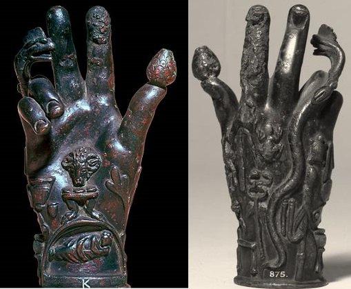 Sabazios a sky-god traced to Thrace  Phrygia