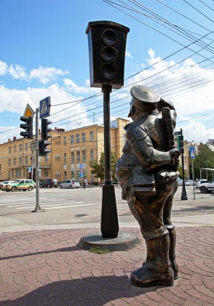 Городовой в Новосибирске2