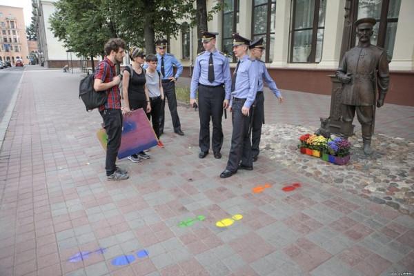 минский городовой ЛГБТ