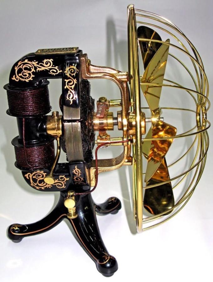 Биполярный вентилятор Эдисона 1892
