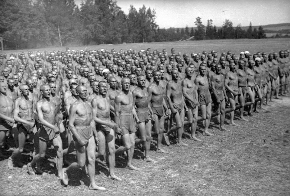 Field training at the summ military camp AlexanderUstinovUSSR1934