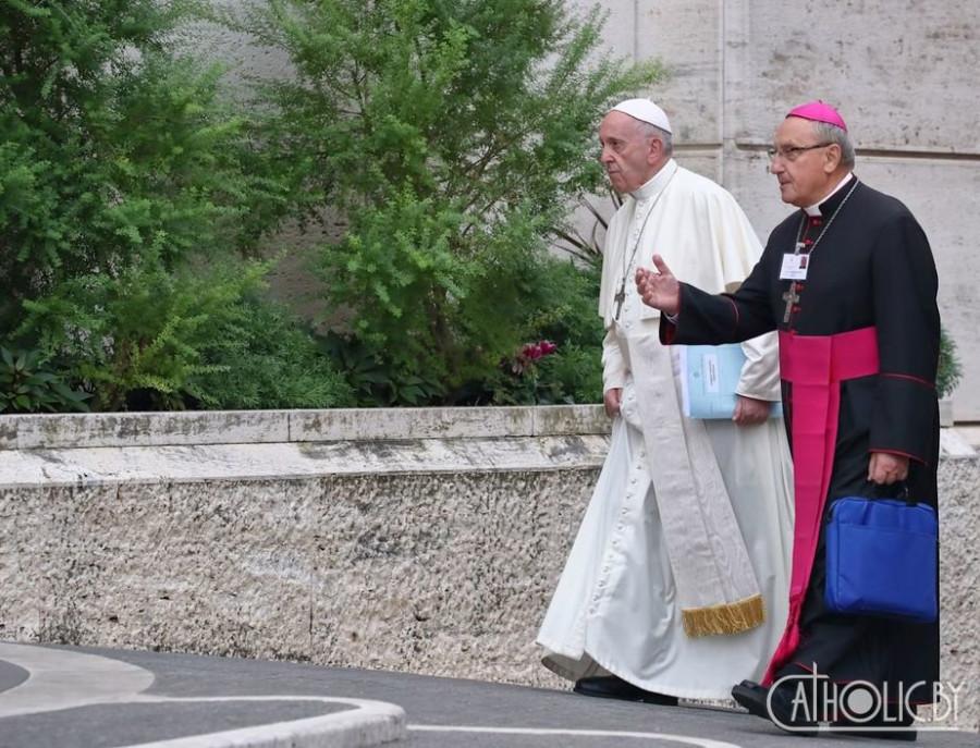 кондрусевич и папа