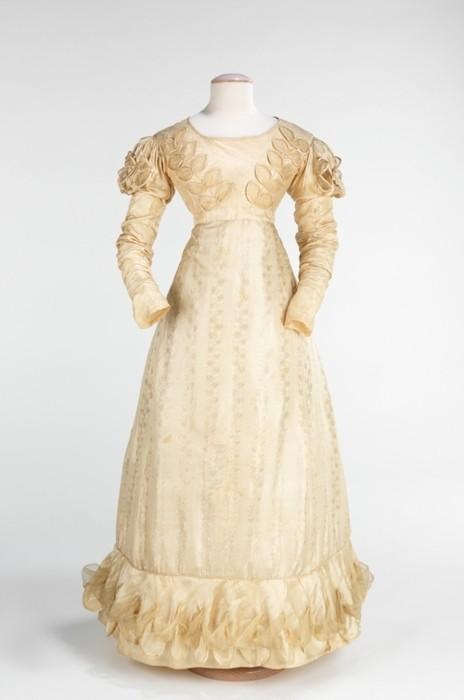 Мода 1822 1829 гг платья