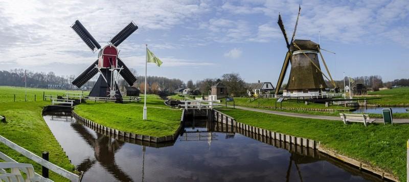 Ветряные мельницы Нидерландов
