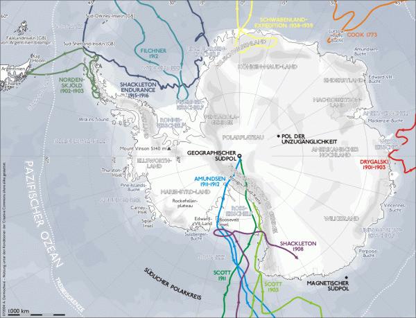 Как находчивость помогла немецкой экспедиции в Антарктике избежать гибели