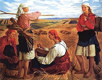 Serebryakova_Harvest_1915
