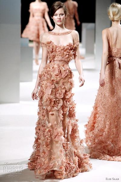 Вечерние платья у эли сааба