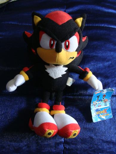 Selling Japanese Sonic X Shadow UFO Plush: sonicstuff