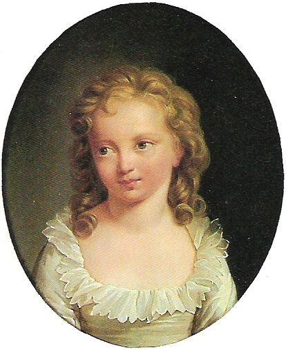 Принцесса в четырехлетнем возрасте. Портрет Александра Кушарского.