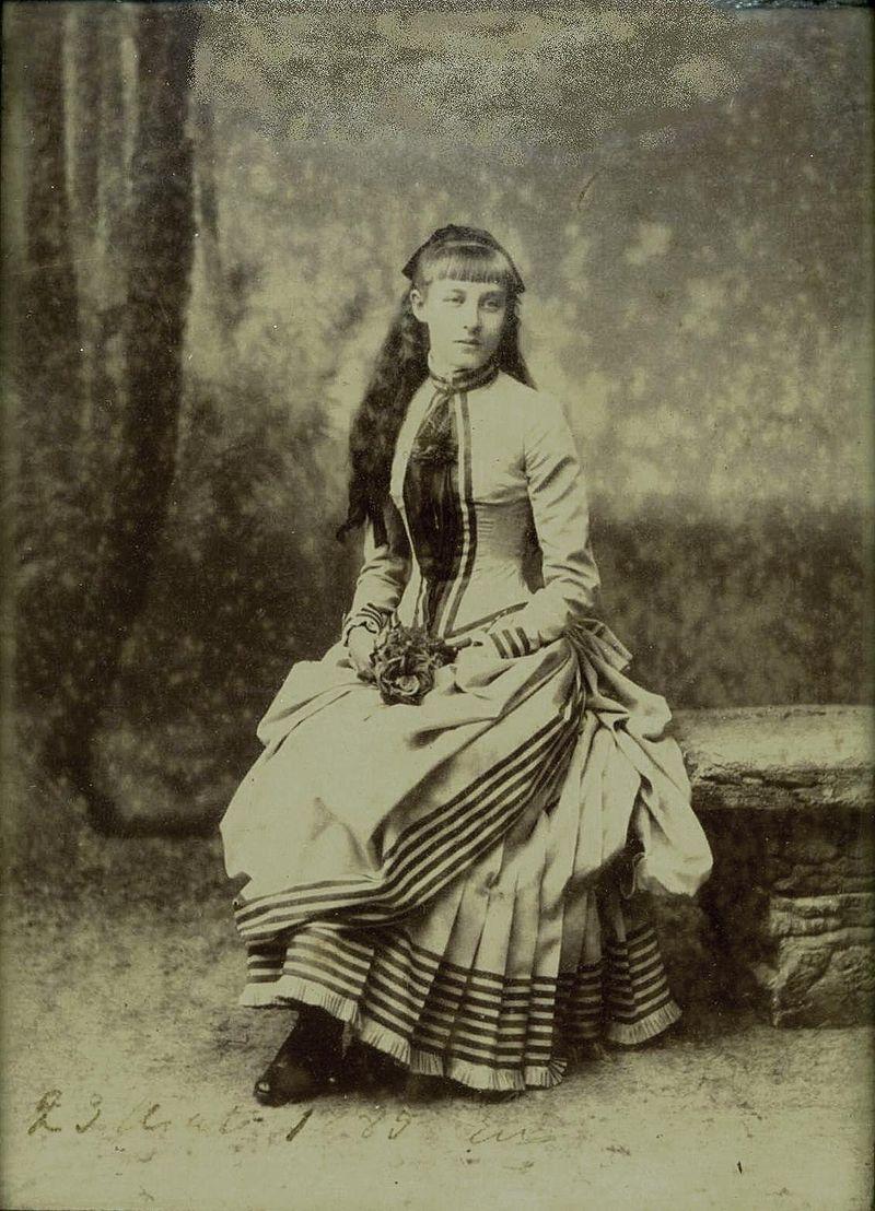 Елена Орлеанская в молодости.