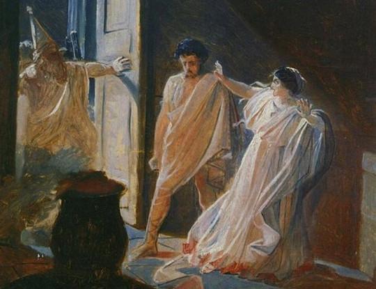 Гелиогабал и Аквилия. Изображение с сайта kulturologia.ru.
