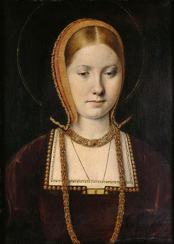 Екатерина, вдовствующая принцесса Уэльская. Михель Зиттов, 1503-1504.