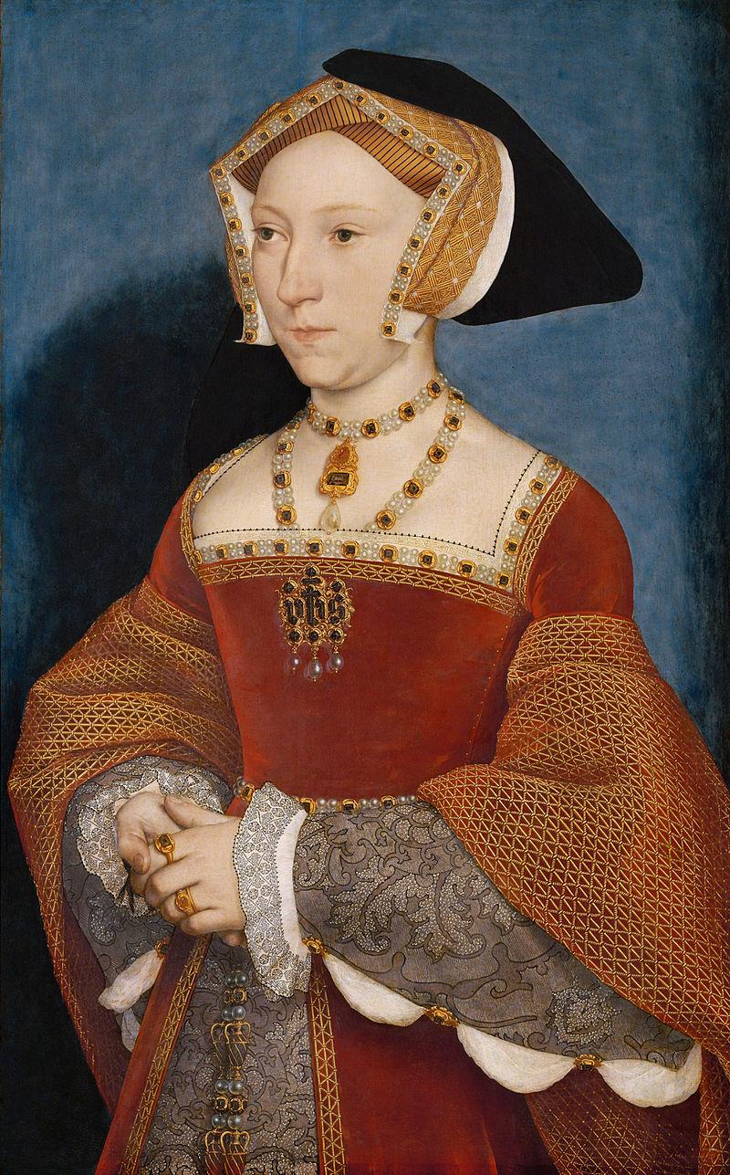 Джейн Сеймур. Ганс Гольбейн мл., ок. 1536-1537.