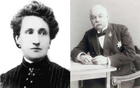 Мария Мейн (Источник: alexandrtrofimov.ru) и Иван Цветаев (Источник: scientificrussia.ru).