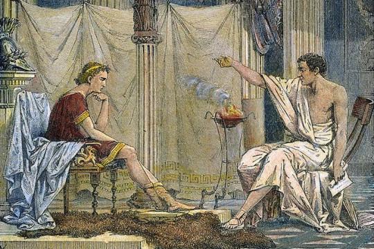 Александр и Аристотель. Источник: 24smi.org.