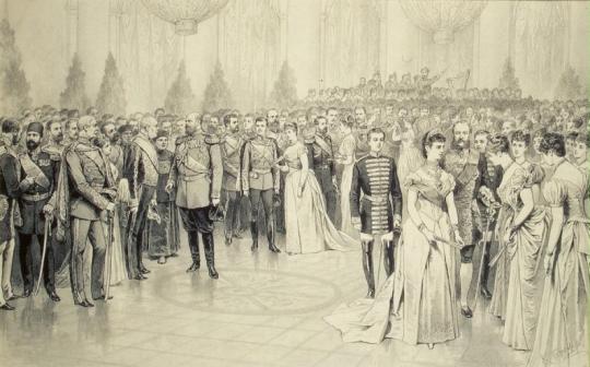 Рождественский бал при Александре Александровиче.