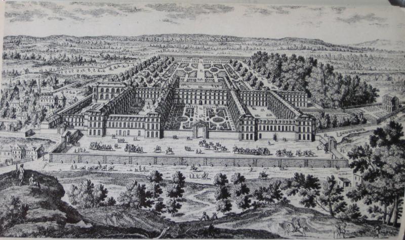 После революции в здании Сен-Сира по инициативе Наполеона была размещена военная академия.