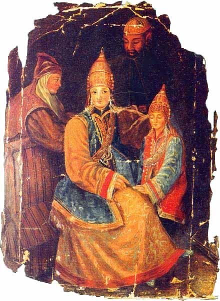 Сююмбике с сыном Утямыш-Гиреем.