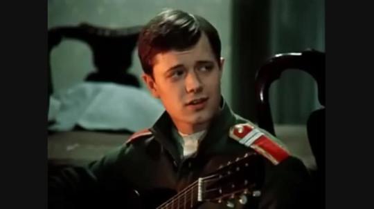 """""""Дни Турбиных"""", 1976. Николка (Андрей Ростоцкий)."""