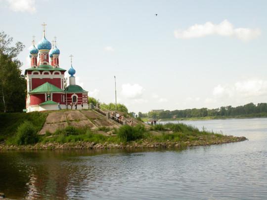Церковь Дмитрия на крови в Угличе. Изображение с сайта ru.wikipedia.org.