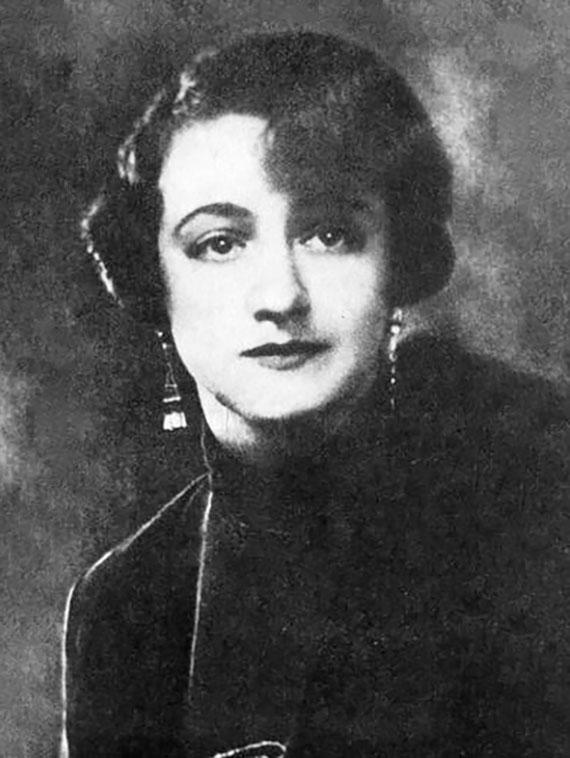 Елена Сергеевна Шиловская. 1928. Изображение с сайта yarcenter.ru.