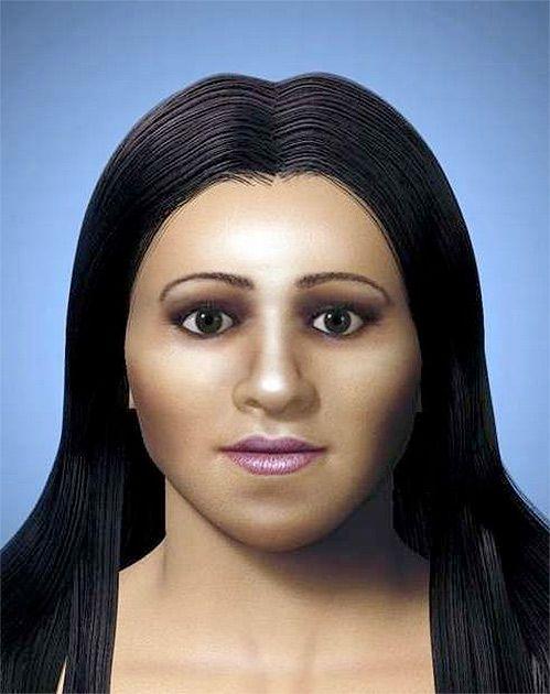 Реконструкция внешности Арсинои, 2009. Изображение с сайта www.pinterest.ru.