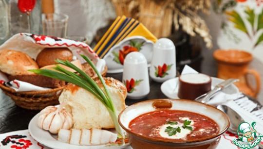 Украинская кухня, образ собирательный. Изображение с сайта www.povarenok.ru.
