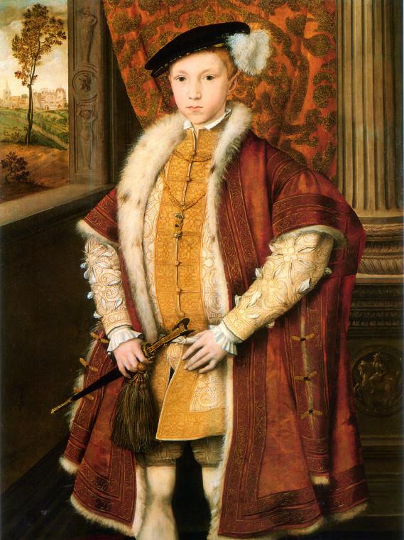 Портрет короля Англии Эдуарда VI. Ганс Эворт, 1546.