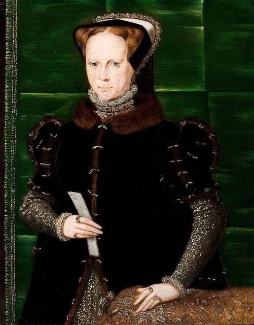 Портрет Марии I Английской, Ганс Эворт.