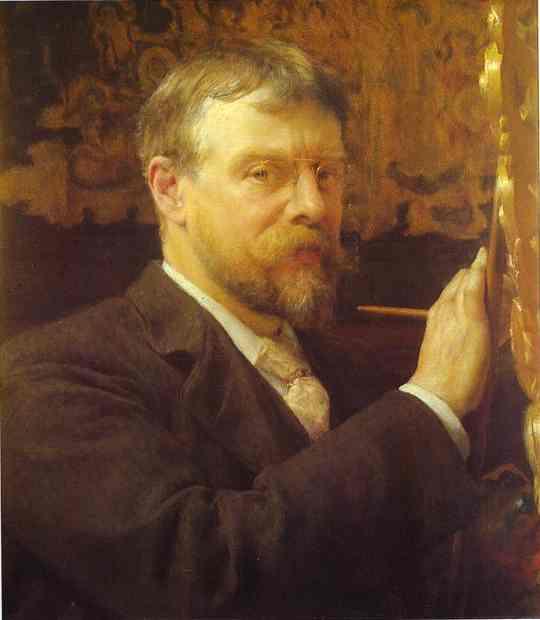 Автопортрет, 1896.