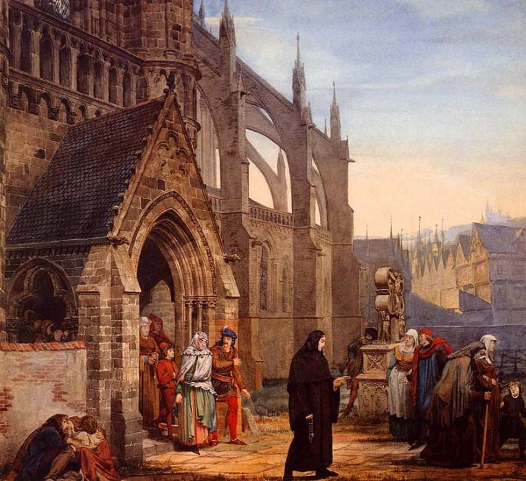 """""""Фауст и Маргарита"""", 1857."""
