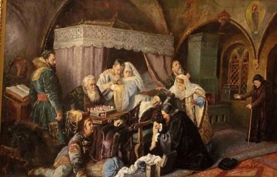 Смерть Ивана Грозного. Константин Маковский, 1888.