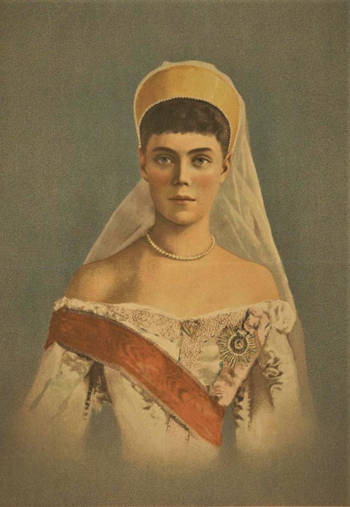 Ксения в 1894 году. Сытин.