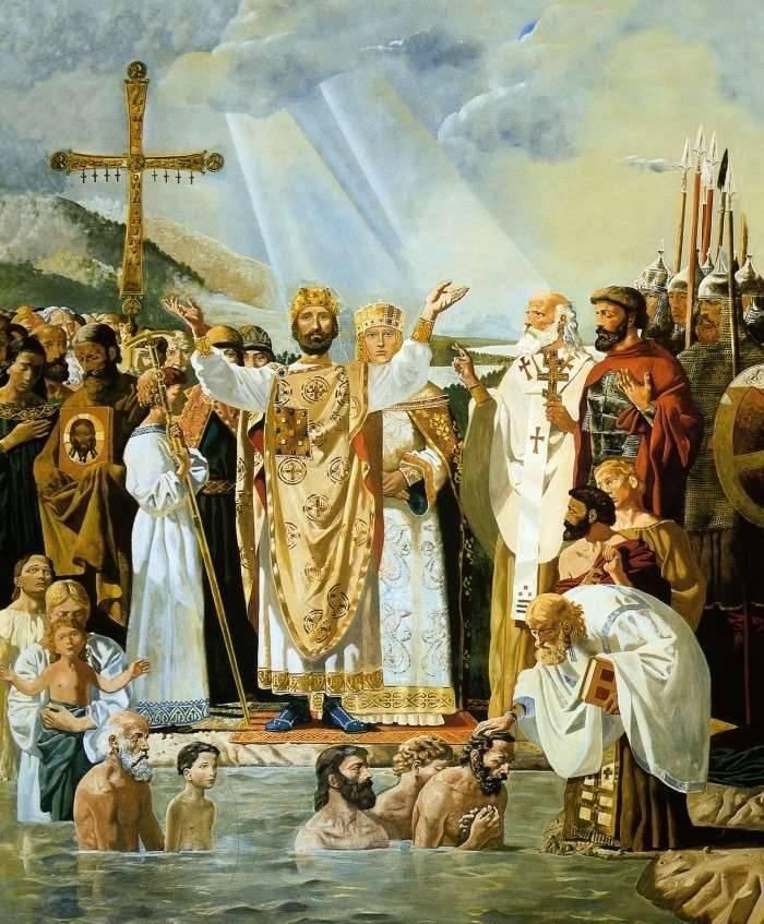 Крещение Руси. Виктор Васнецов, 1885-1896.